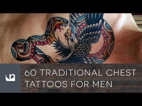 60 Traditional Chest Tattoos For Men
