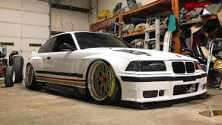 BMW E36 M3 TURBO PANDEM WIDEBODY TUNING PROJECT 🔧