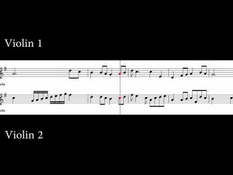 Red River Valley (Violin 1 and Violin 2)