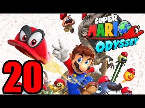 Super Mario Odyssey playthrough pt20 - Sphynx Riddles and...and World Warp?!