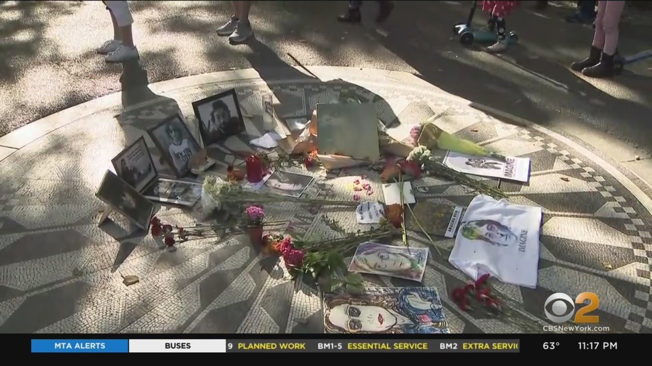 Fans Celebrate John Lennon's 80th Birthday With Central Park Tribute
