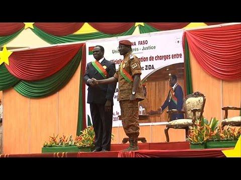 Burkina Faso: Michel Kafando investi président intérimaire