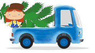 Как маленький грузовичок летнюю резину на зимнюю менял - Доктор Машинкова