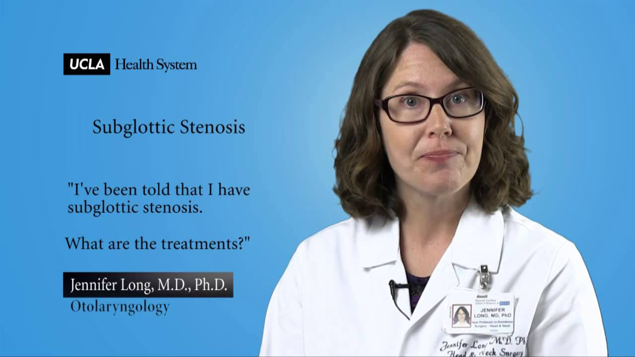Real Questions | Subglottic Stenosis | UCLA Head and Neck Surgery