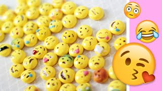 MAKING ALL 56 SMILEY EMOJIS! ☺ DIY Polymer Clay Tutorial