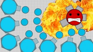 BEST TANK EVER!!! - Upgraded Fighter! - Diep.io BUFFED Fighter Update Gameplay With Arena Closers!