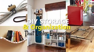 12 Low-Budget DIY Storage and Organization Ideas That Look Expensive
