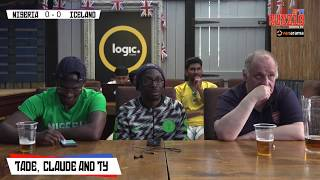 Nigeria 2-0 Iceland | Live World Cup Watch Along With Specs, Tade, Claude & Ty
