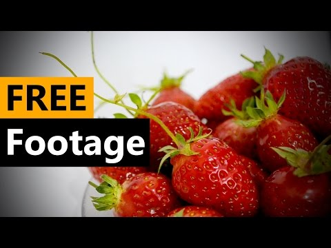 Strawberry - FREE Stock Video Footage [Download Full HD]