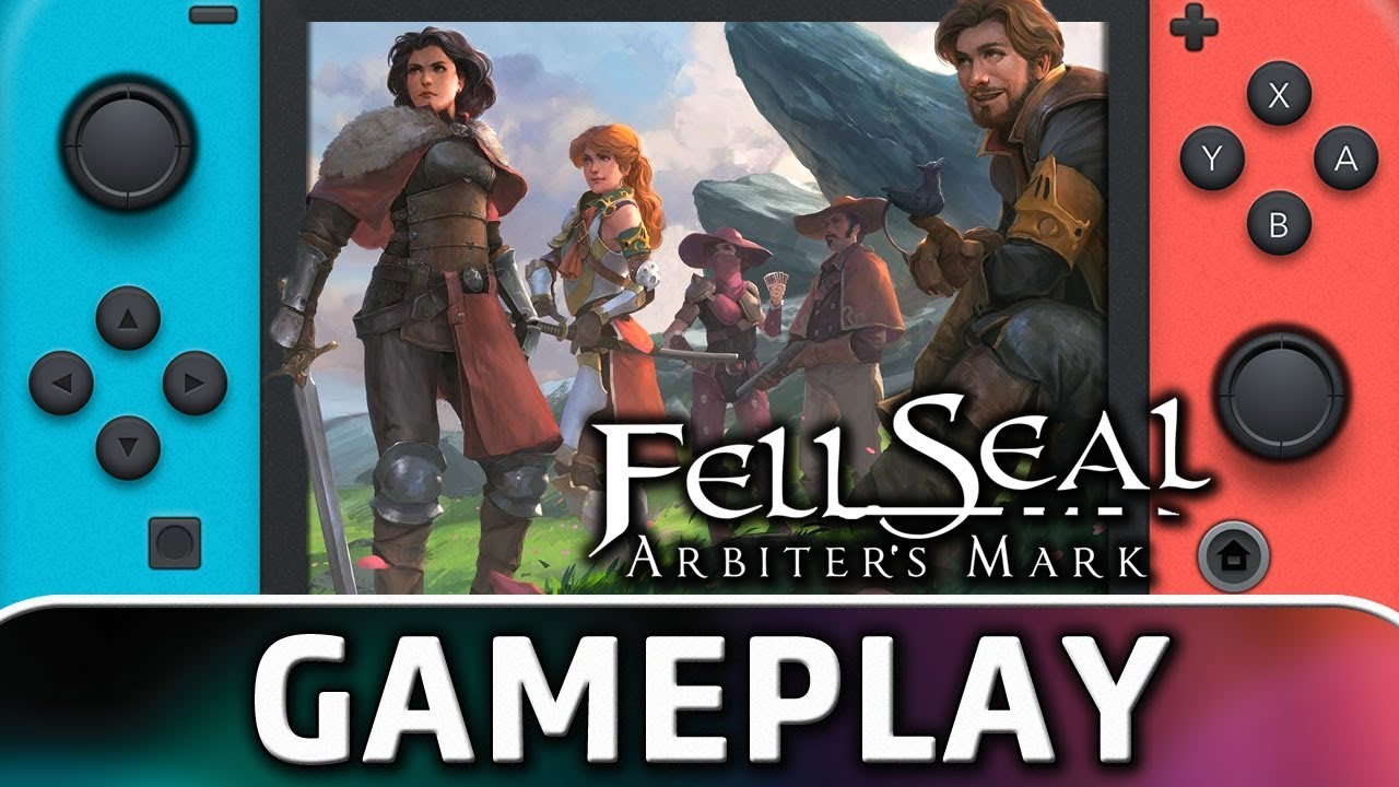 Fell Seal: Arbiter's Mark | First 30 Minutes on Nintendo Switch