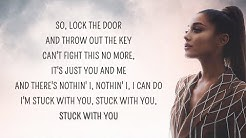 Ariana Grande - Stuck with U (Lyrics) ft. Justin Bieber