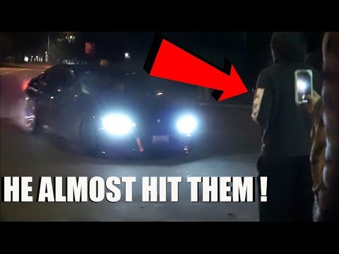 bmw-owner-almost-hits-crowd!