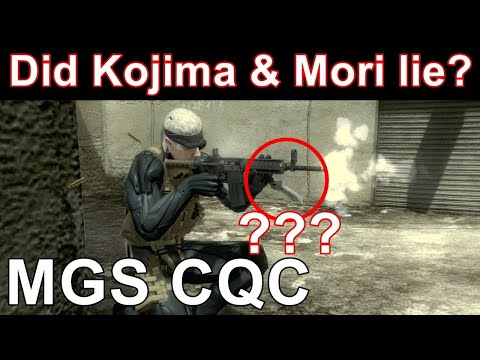 """Is MGS CQC realistic?"""