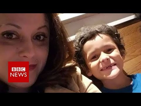 Mum's agony at nine-year-old son's suicide - BBC News