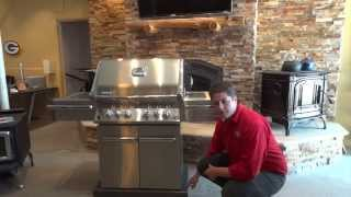 Napoleon Gas Bbq Grilll Pro500 Free Standing Cart Model Product Consumer Review