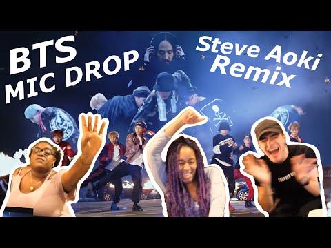 BTS Mic Drop (Steve Aoki Remix) MV Reaction!