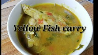 Yellow fish curry without coconut | Goan recipe