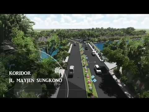 Rencana Tata Kota Jl. Mayjen Sungkono Malang