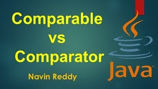 Interview Question | Comparable vs Comparator in Java