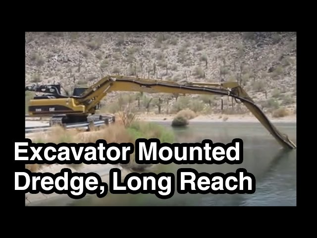 Excavator Dredge Pump Attachment, Long Reach - EDDY Pump