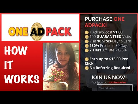 #OneAdPack | How It Works | Day 1 |