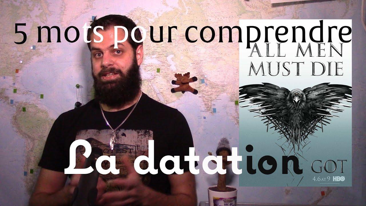 Méthode de datation en anthropologie