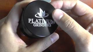 Platinum Herb Grinder Review & Unboxing - Best Grinders