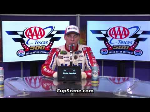 NASCAR at Texas Motor Speedway, Nov. 2018:  Kevin Harvick post race
