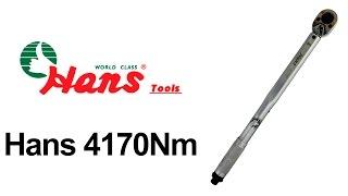 Hans 4170Nm — динамометрический ключ — видео обзор 130.com.ua(Динамометрический ключ Hans 4170Nm можно купить на 130.com.ua: ..., 2014-09-15T07:19:25.000Z)