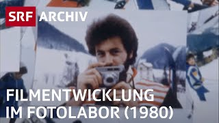 Filmentwicklung im Fotolabor (1980)  | Fotografie früher | SRF Archiv