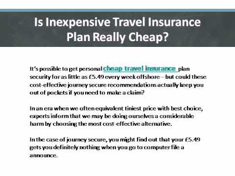 Is Inexpensive Travel Insurance Plan Really Cheap