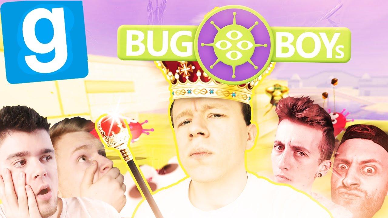 NIEZAWODNA STRATEGIA PLAGI! | Bug Boys [#6] Garry's mod [#585] (With: EKIPA) #Bladii #PL #Po polsku