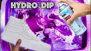 HYDRO Dipping VANS!! - Part 2   (Giveaway)