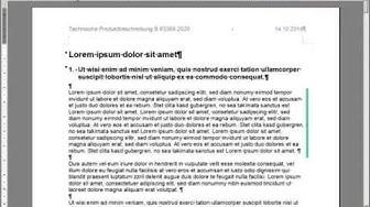 Optimierung einer PDF-Datei zur Übersetzung