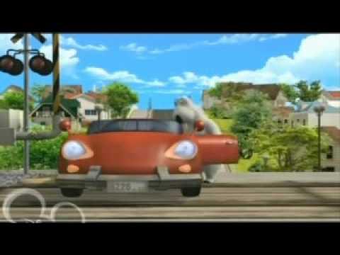 el oso bernardo - en el auto
