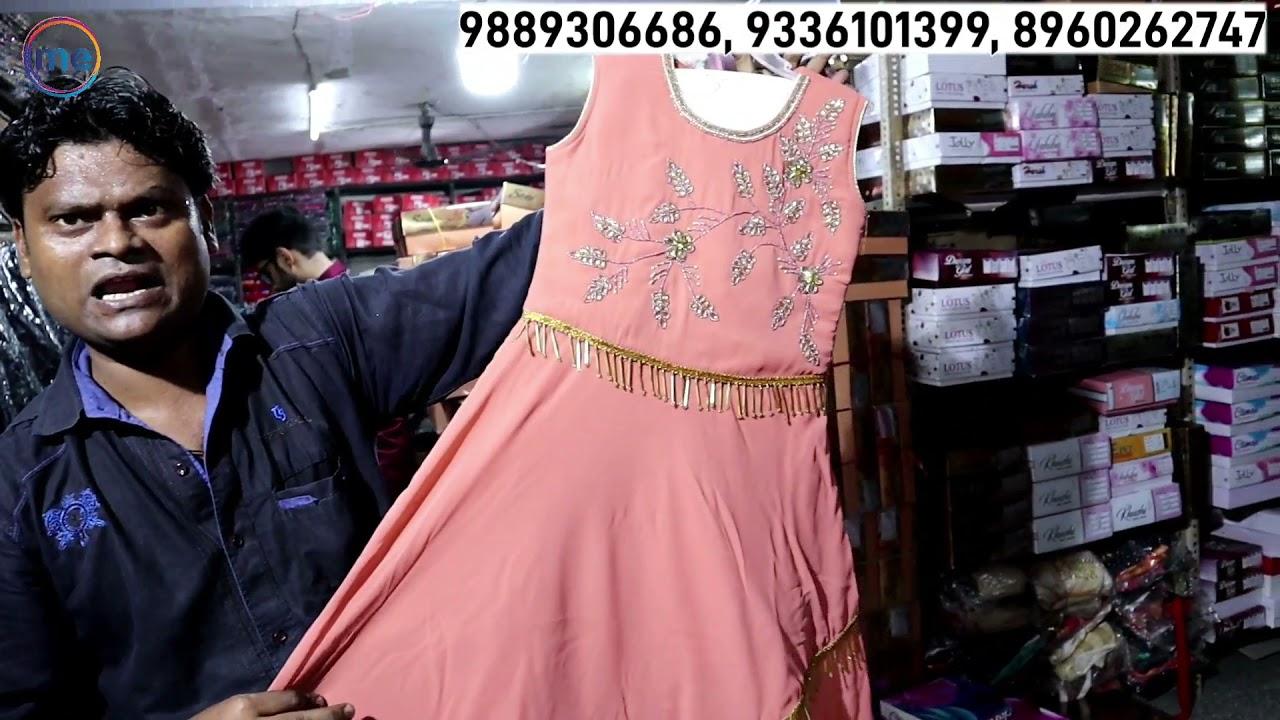 कानपुर की 65 साल पुरानी होलसेल शॉप | Kanpur Wholesale Market | Gown & Croptop Market Kanpur