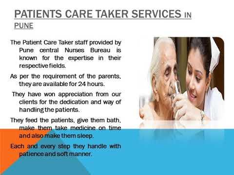 24/7 Nursing Services in Pune - Pune central Nurses Bureau