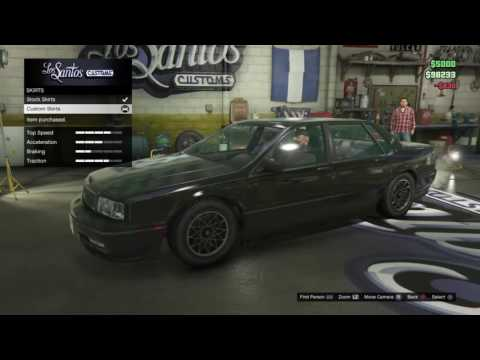 GTA 5 ONLINE : Challenge la voiture la plus pourri