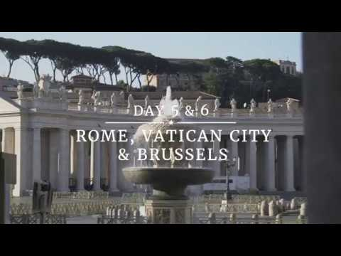 President Trump's Trip Abroad: Rome, Vatican City, & Brussels
