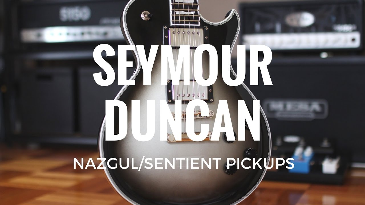 Seymour Duncan Nazgul//Sentient Set 6 String Electric Guitar Electronics