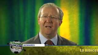 Alex Ferguson on Group F - Fergie's World Cup Guide 2014 - Comedy Greats