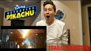 Pokemon Detective Pikachu - Trailer 1 REACTION (EXPLOSIVE NERDGASM)