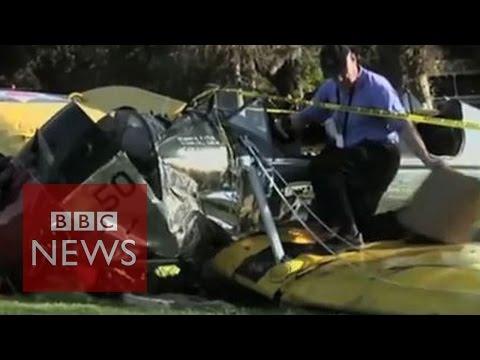 Harrison Ford injured in LA plane crash - BBC News