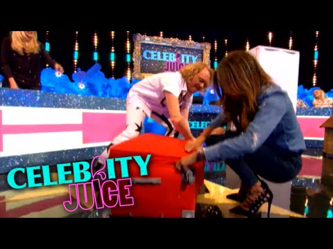 Marvin Humes in a suitcase?! - Celebrity Juice