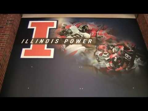 Illinois Football Strength with Associate Strength Coach Dave Andrews