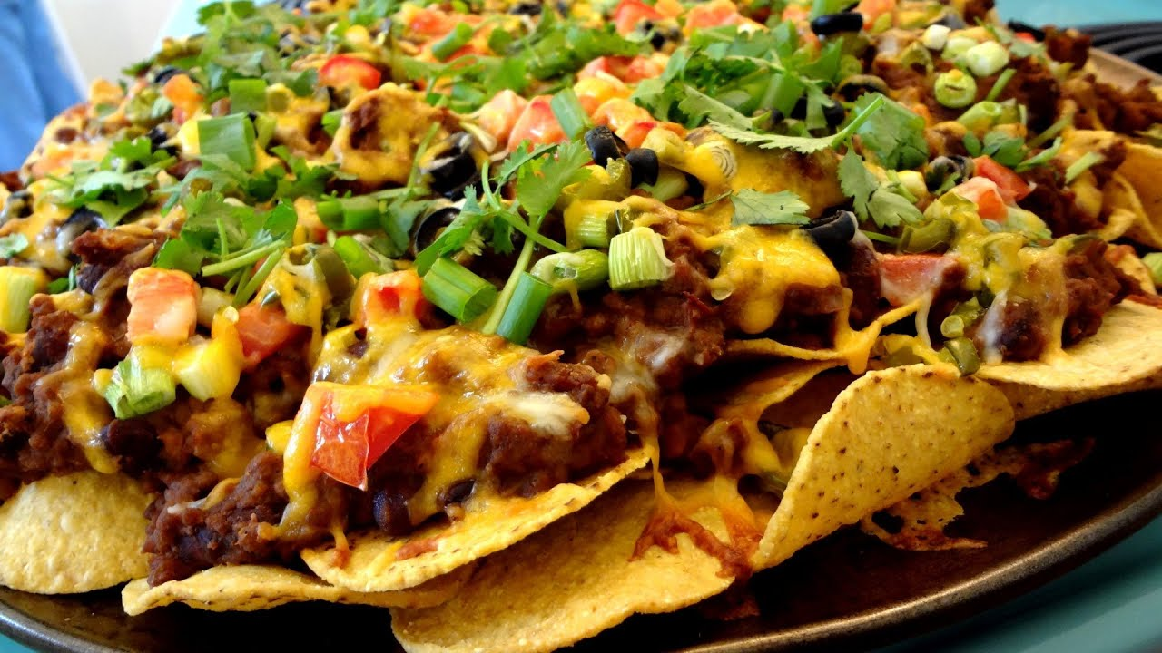 Best Nachos Supreme Recipe - YouTube