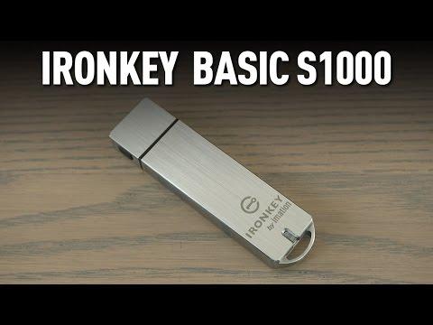 Make Ironkey S1000 güvenli USB stick incelemesi Pics