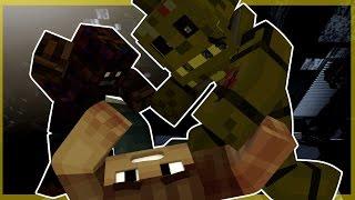 Fazbear Fright! - SPRINGTRAP SNEAK ATTACK! (FNAF Minecraft Roleplay) #2