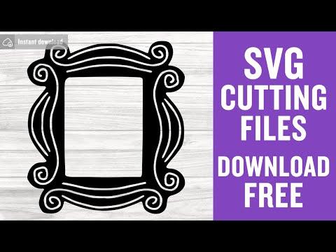 Friends Svg Free Door Frame Svg Best Friends Svg Instant Download Silhouette Cameo Shirt Design Pivot Svg Free Vector Files Png 0436 Freesvgplanet