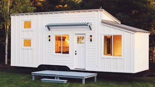 Amazing Beautiful Cascade Tiny House For Sale By Handcrafted Movement